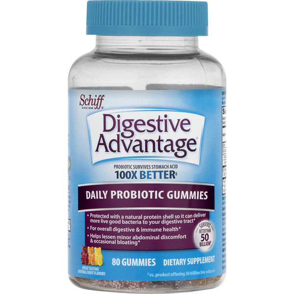 Digestive Advantage Daily Probiotic Gummies