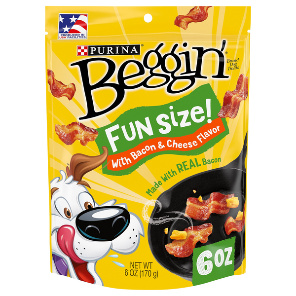 Purina Beggin' Dog Treats Bacon & Cheese