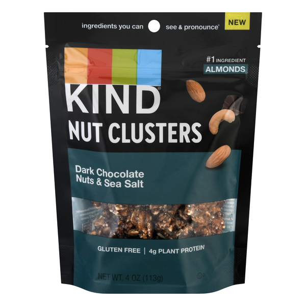 KIND Nut Clusters Dark Chocolate Nuts & Sea Salt Gluten Free