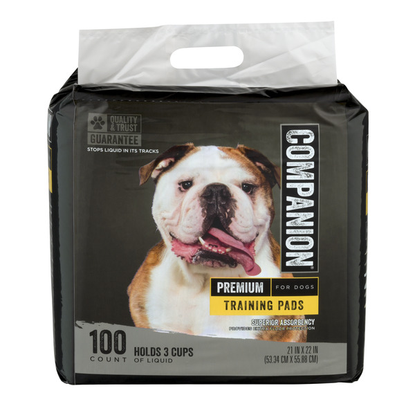 Companion Premium Training Pads for Dogs 21 X 22 Inch