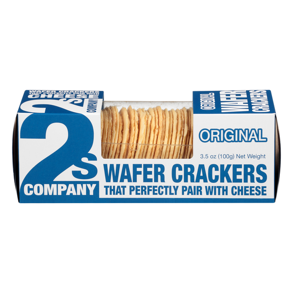 2s Company Wafer Crackers Original