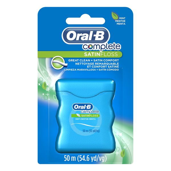 Oral-B Complete SATIN Floss Dental Floss Mint