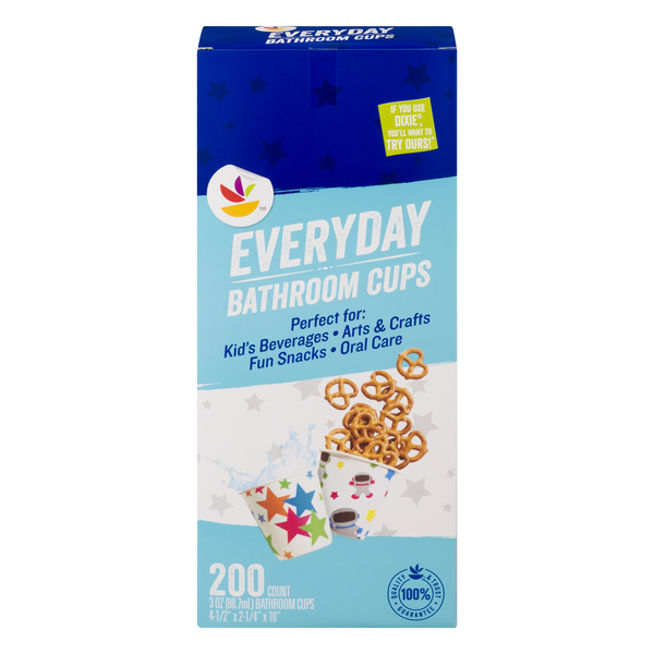 Stop & Shop Everyday Bathroom Cups 3 Ounce