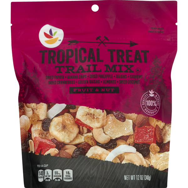 Stop & Shop Fruit & Nut Trail Mix Tropical Treat