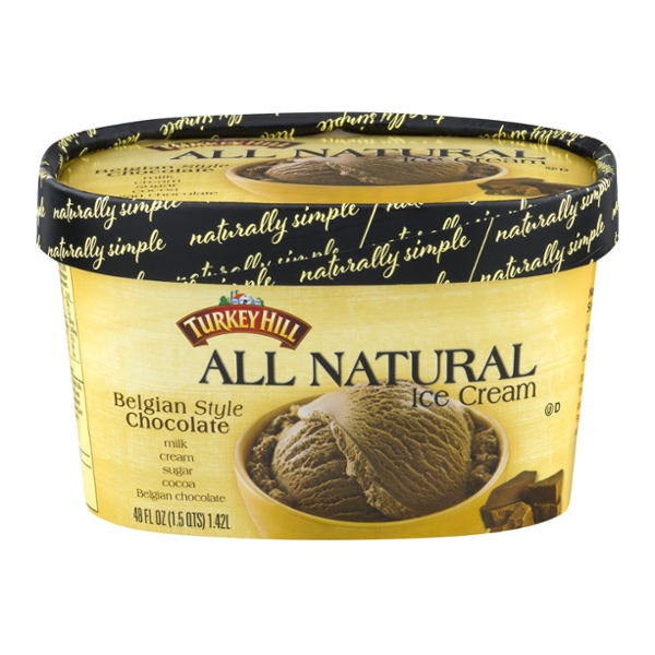 Turkey Hill Ice Cream Belgian Style Chocolate All Natural