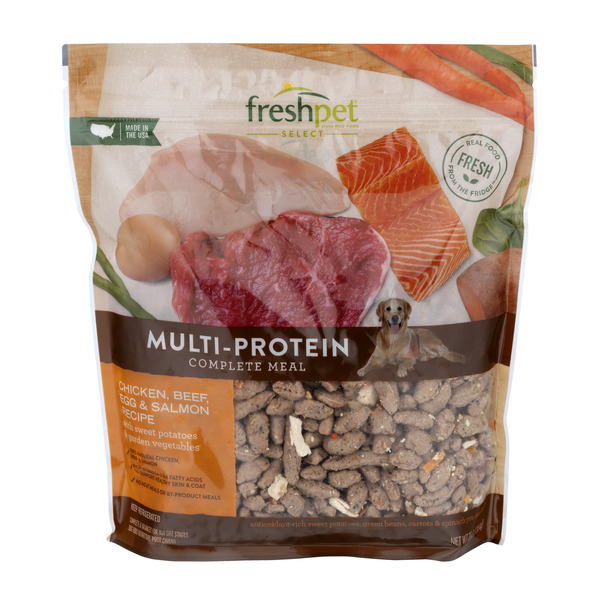 Freshpet Select Multi-Protein Refrigerated Dog Food Chicken Beef & Egg
