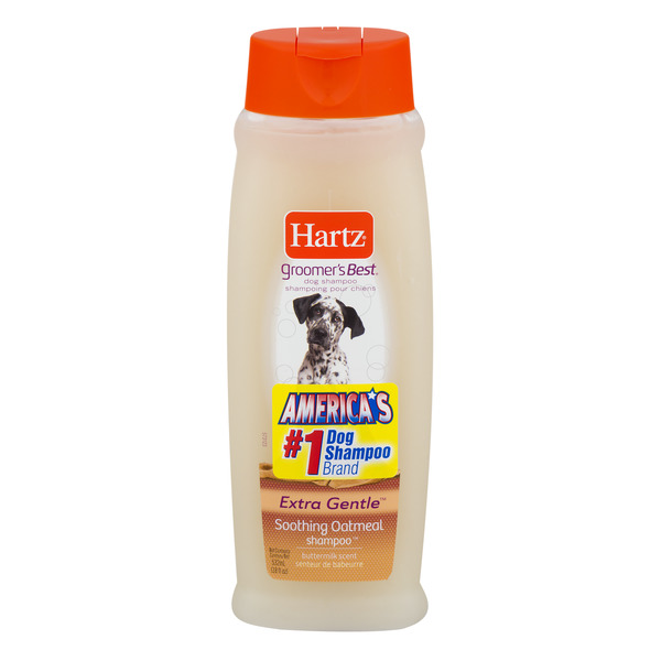 Hartz Groomer's Best Extra Gentle Soothing Oatmeal Shampoo