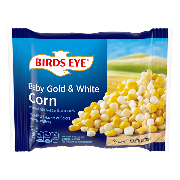 Birds Eye Deluxe Baby Corn Gold & White All Natural