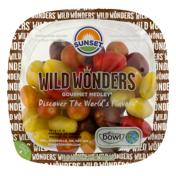 Sunset Wild Wonders Gourmet Medley Tomatoes