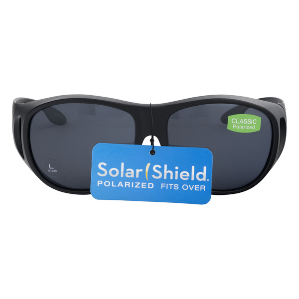 Solar Shield Polarized Fits Over Lenses Classic Size L