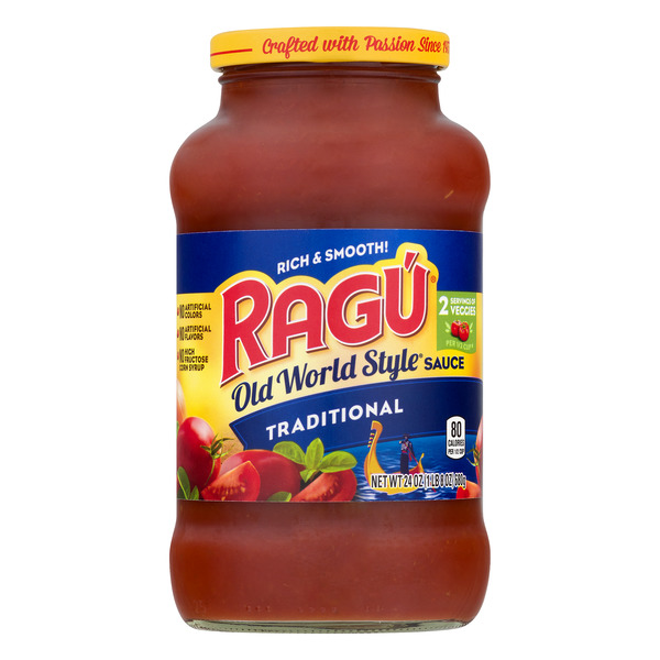 Ragu Old World Pasta Sauce Traditional