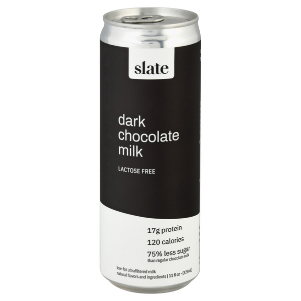 Slate Dark Chocolate Milk Lactose Free