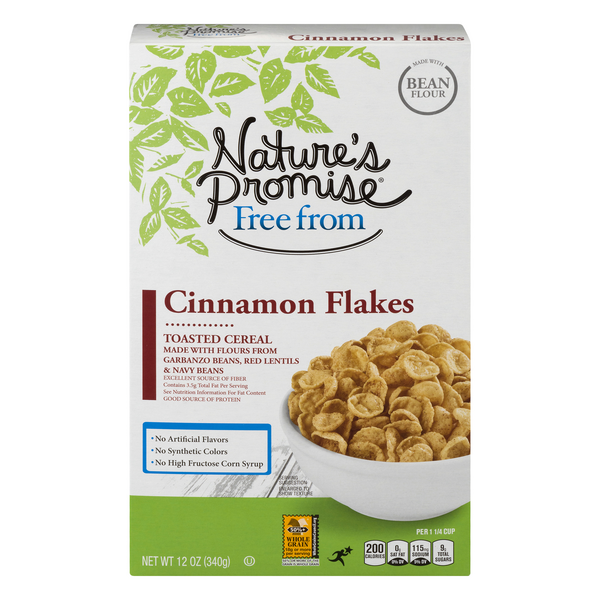 Nature's Promise Free From Cereal Cinnamon Flakes