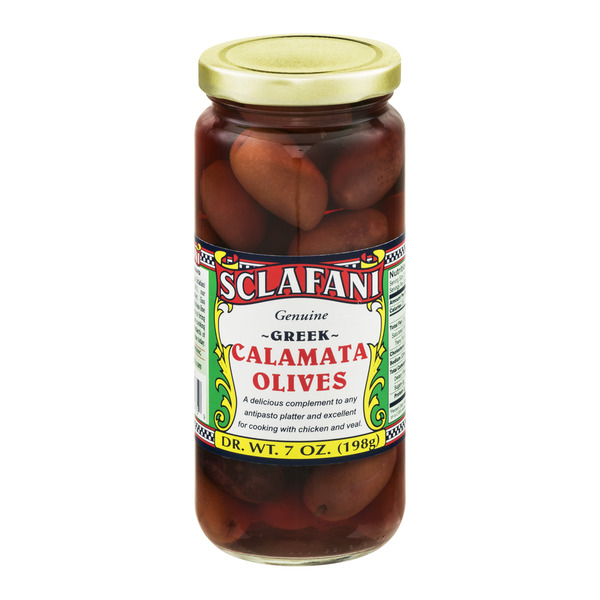 Sclafani Calamata Olives Greek
