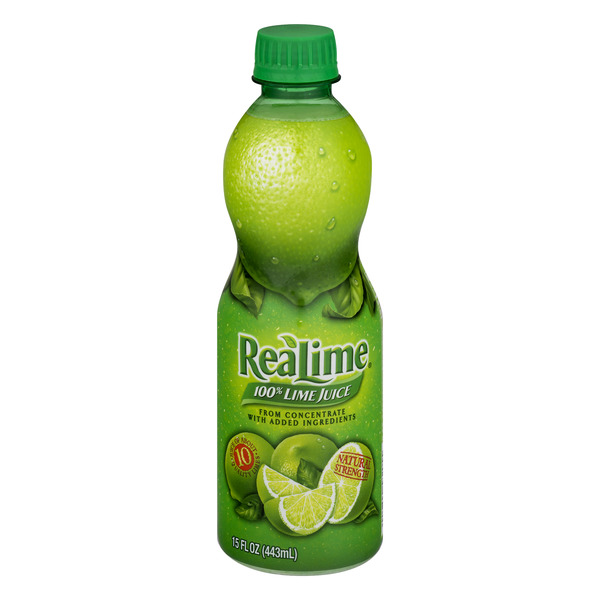 ReaLime 100% Lime Juice from Concentrate