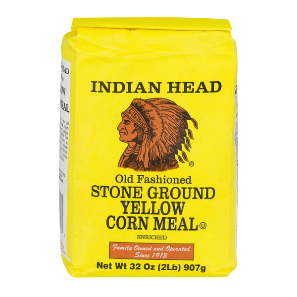 Indian Head Corn Meal Yellow Stone Ground