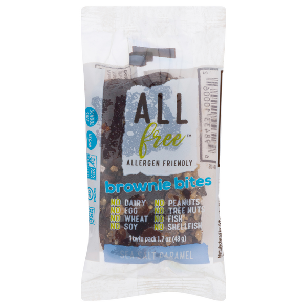 ALL free Brownie Bites Sea Salt Caramel