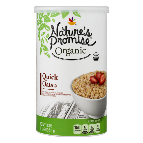 Nature's Promise Organic Quick Oats Rolled