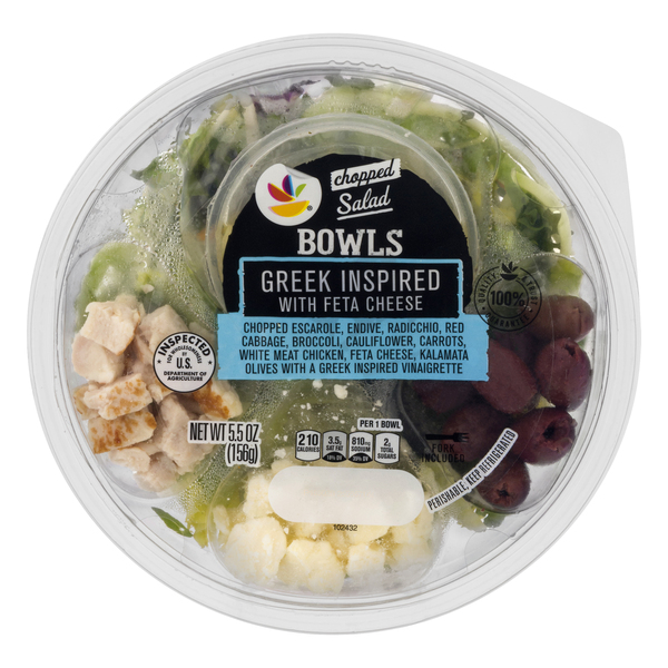 Ready Pac Bistro Salad Bowl Greek Feta