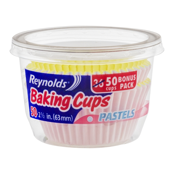 Reynolds Baking Cups Paper Pastels 2.5 Inch