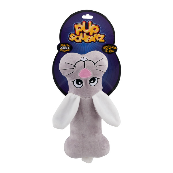 Pup Squeakz Plush And Squeaky Toy