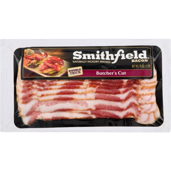 Smithfield Butcher's Cut Bacon Double Thick