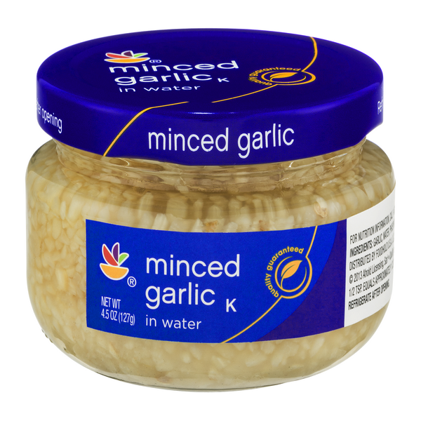 Giant Garlic Minced in Water