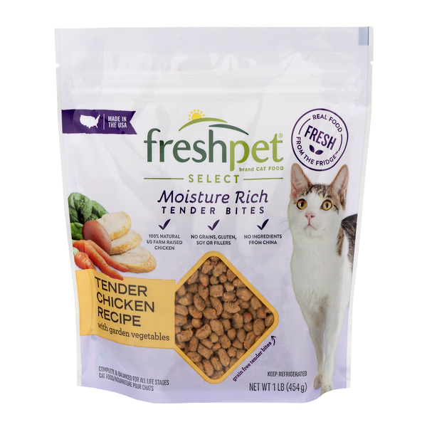 Freshpet Select Tender Bites Refrigerated Cat Food Chicken Recipe