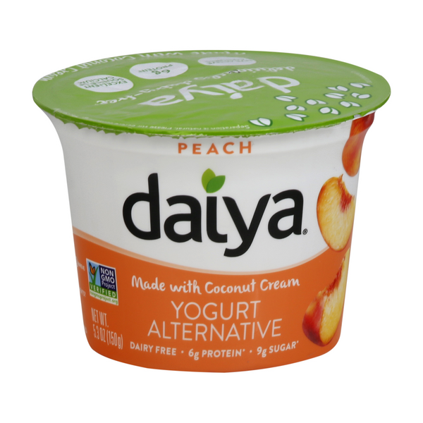 Daiya Greek Yogurt Peach Dairy & Soy Free
