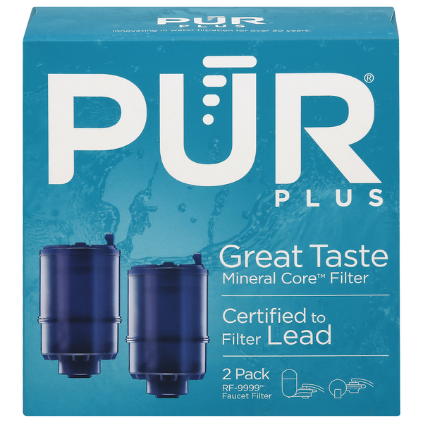 PUR Triple Action Mineral Clear Faucet Monitor Refills