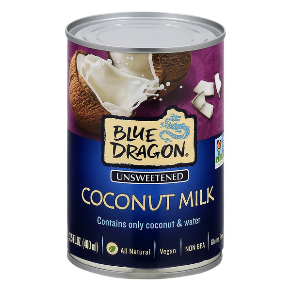 Blue Dragon Coconut Milk Unsweetened