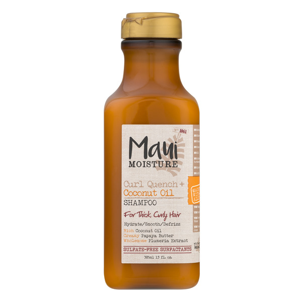 Maui Moisture Shampoo Curl Quench Coconut Oil for Curly Hair