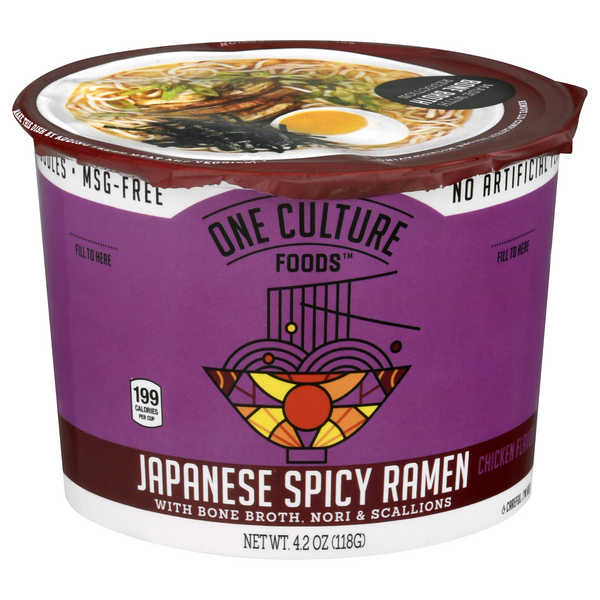 One Culture Foods Japanese Spicy Ramen Hot Chicken