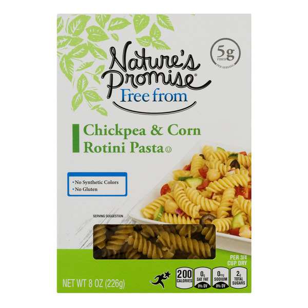 Nature's Promise Free from Chickpea & Corn Rotini Pasta