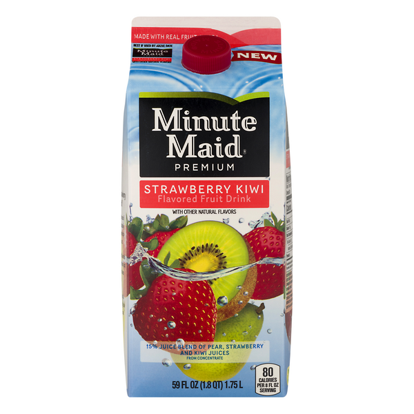 Minute Maid Premium Fruit Drink Strawberry Kiwi