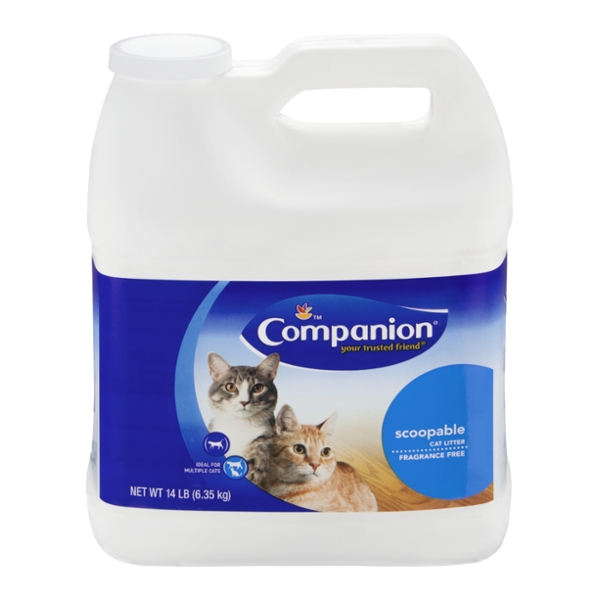 Companion Scoopable Cat Litter Fragrance Free