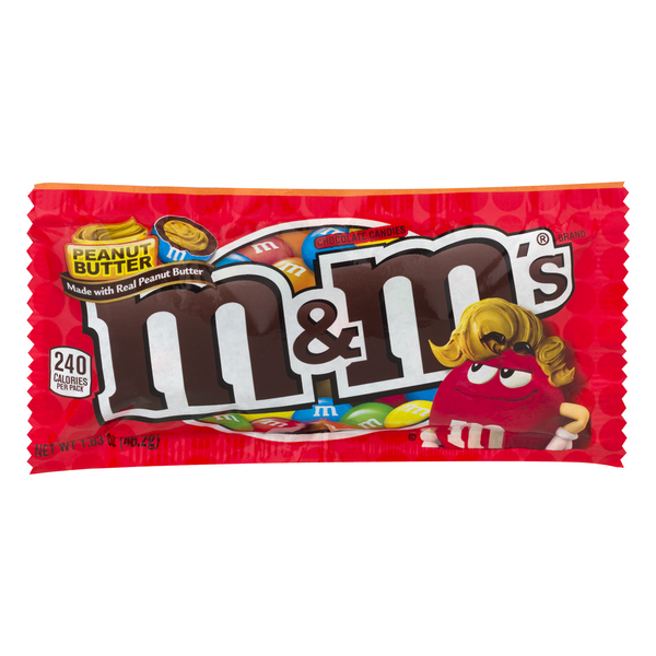 M&M's Peanut Butter Chocolate Candies
