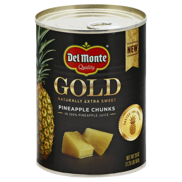 Del Monte Pineapple Gold Chunks In Juice