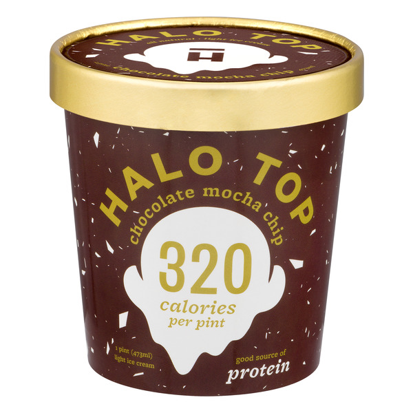 Halo Top Light Ice Cream Chocolate Mocha Chip