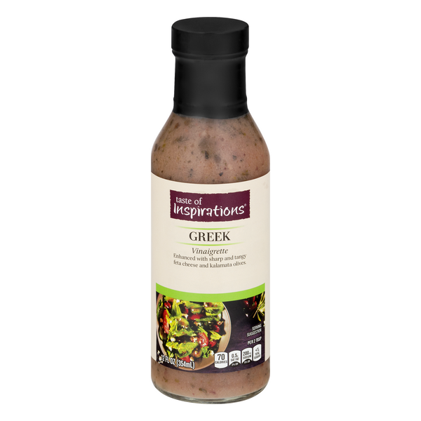 Taste of Inspirations Greek Vinaigrette Dressing