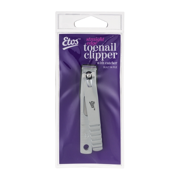 Etos Straight Edge Toenail Clipper