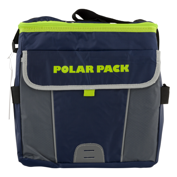 Polar Pack Insulated 30 Can Collapsible Cooler Assorted Colors