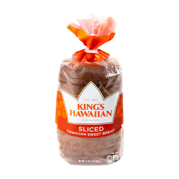 King's Hawaiian Sweet Bread Original Sliced