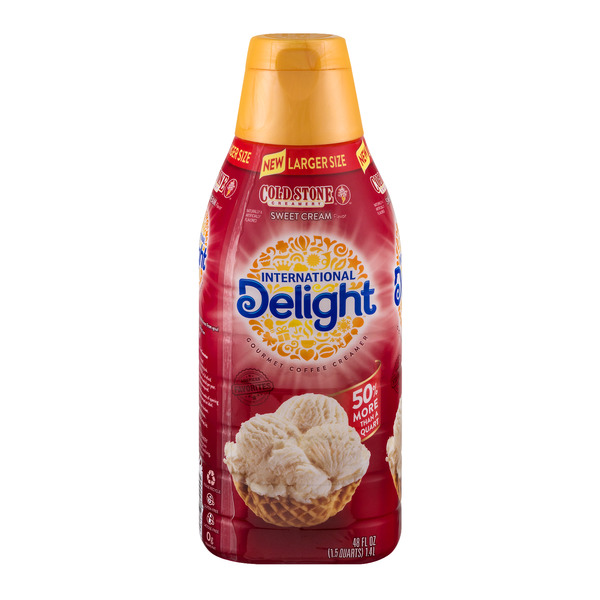 International Delight Gourmet Coffee Creamer Cold Stone Creamery