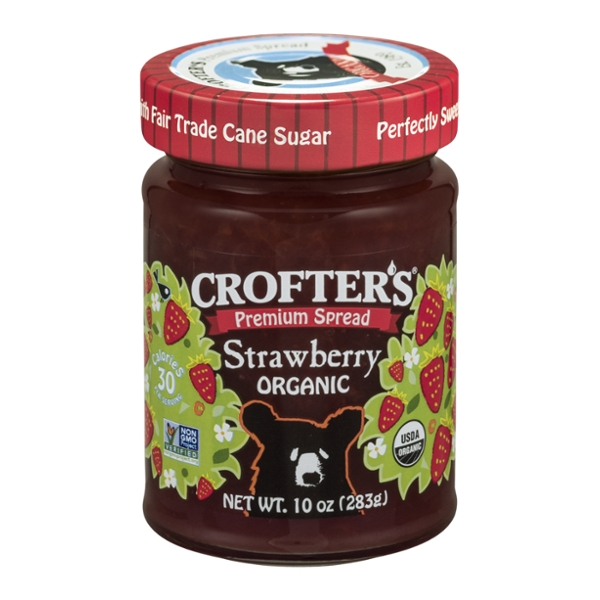 Crofter's Spread Strawberry Organic