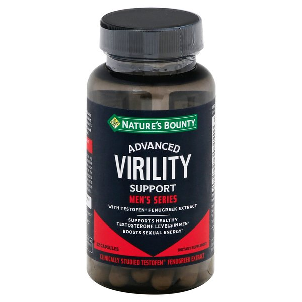 Nature's Bounty Advanced Men's Series Virility Support Capsules