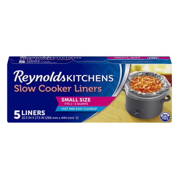 Reynolds Kitchens Slower Cooker Liners Small Size