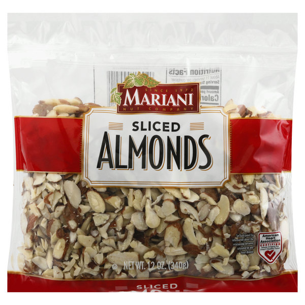 Mariani Almonds Sliced Resealable