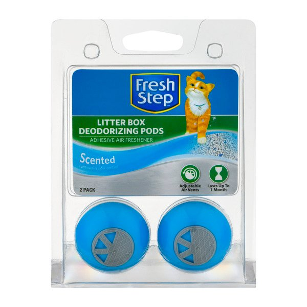 Fresh Step Litter Box Deodorizing Pods Scented