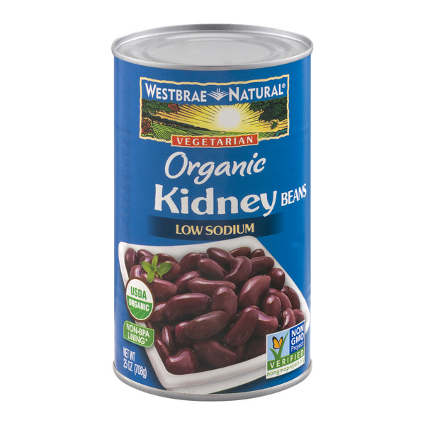 Westbrae Natural Vegetarian Kidney Beans Low Sodium Organic